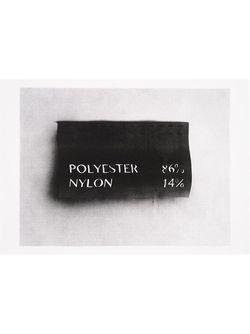 Принт На Тканом Полотне HOUSE OF VOLTAIRE                                                                                                              чёрный цвет