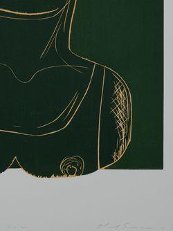 Принт Картины Из Серии Woodcut HOUSE OF VOLTAIRE                                                                                                              зелёный цвет