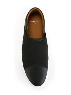 Кеды Со Скрещенными Лямками Givenchy                                                                                                              чёрный цвет
