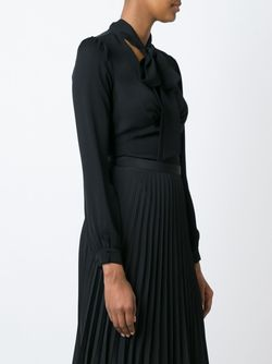Блузка С Завязкой На Бант Michael Michael Kors                                                                                                              черный цвет
