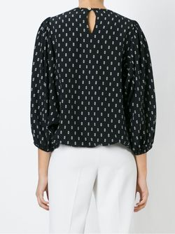 Блузка С Принтом SOCIETE ANONYME                                                                                                              чёрный цвет