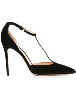 Туфли Мэри Джейн Gianvito Rossi                                                                                                              черный цвет