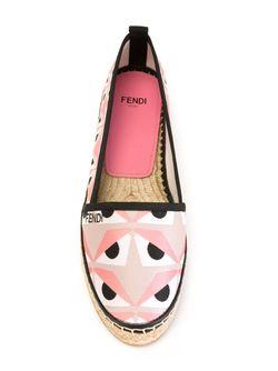 Эспадрильи Bag Bugs Fendi                                                                                                              розовый цвет