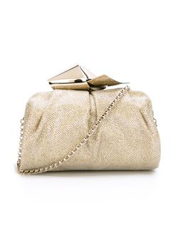 Cara Clutch Jimmy Choo                                                                                                              серебристый цвет