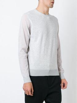 Свитер С Круглым Вырезом Lanvin                                                                                                              серый цвет