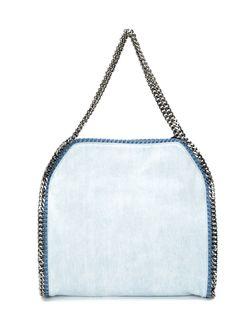 Сумка-Тоут С Вышивкой Falabella Stella Mccartney                                                                                                              синий цвет