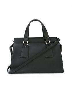 Маленькая Сумка-Тоут Le Sac Giorgio Armani                                                                                                              черный цвет