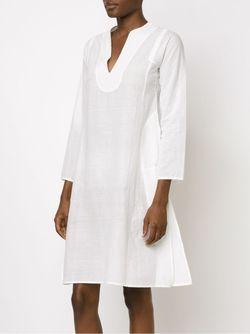 Платье-Туника С Длинными Рукавами Dosa                                                                                                              белый цвет