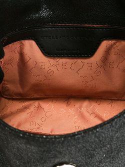 Декорированная Сумка На Плечо Falabella Stella Mccartney                                                                                                              черный цвет