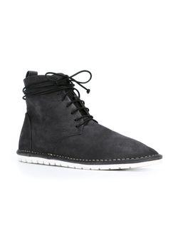 Ботинки На Шнуровке Marsell                                                                                                              чёрный цвет