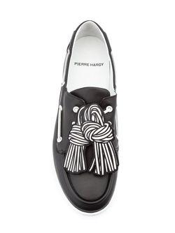 Палубные Туфли Scoubi Pop Pierre Hardy                                                                                                              чёрный цвет