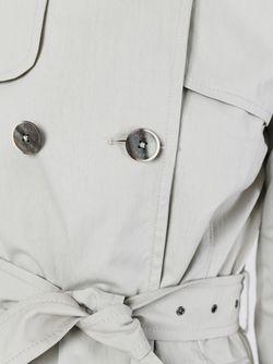 Классический Тренч Herno                                                                                                              серый цвет