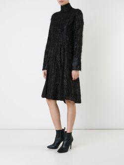 Платье С Отделкой Мишурой SCANLAN THEODORE                                                                                                              чёрный цвет