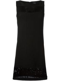 Платье Без Рукавов Versace Collection                                                                                                              чёрный цвет