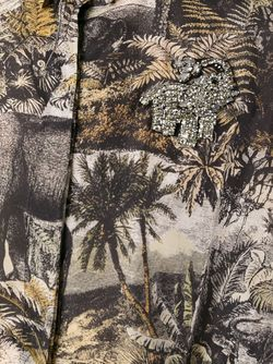 Рубашка С Принтом Джунглей No21                                                                                                              многоцветный цвет