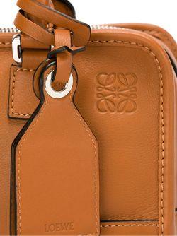 Сумка-Тоут Amazona 28 Loewe                                                                                                              коричневый цвет