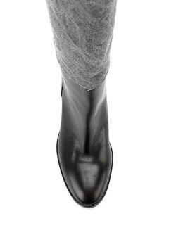 Джинсовые Сапоги A.F.Vandevorst                                                                                                              серый цвет
