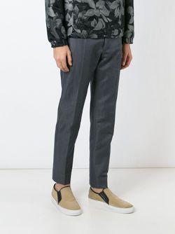 Брюки Кроя Слим Dolce & Gabbana                                                                                                              серый цвет
