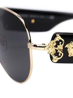 Солнцезащитные Очки Medusa Versace                                                                                                              черный цвет