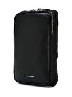 Рюкзак Прямоугольной Формы Diesel Black Gold                                                                                                              чёрный цвет