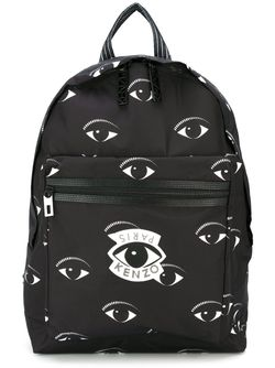 Рюкзак Sac À Dos Eyes Kenzo                                                                                                              черный цвет