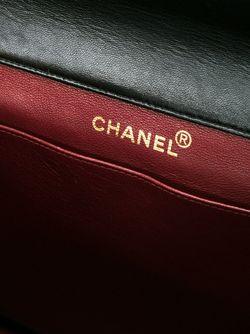 Сумка На Плечо С Откидным Клапаном Chanel Vintage                                                                                                              черный цвет