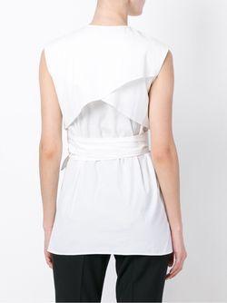 Блузка Без Рукавов Each X Other                                                                                                              белый цвет