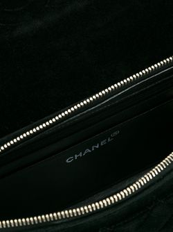 Бархатный Рюкзак Chanel Vintage                                                                                                              чёрный цвет