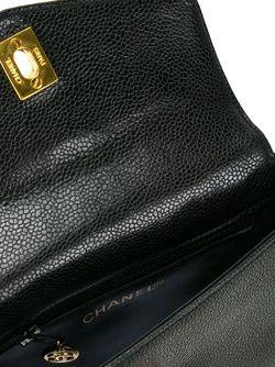 Поясная Сумка С Бляшками С Логотипом Chanel Vintage                                                                                                              черный цвет