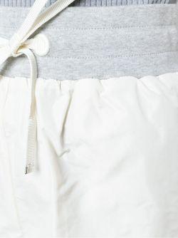 Спортивные Шорты Moncler                                                                                                              белый цвет