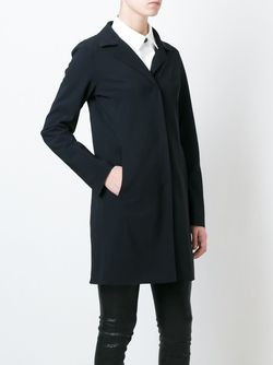 Однобортное Пальто Herno                                                                                                              черный цвет