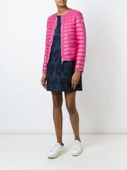 Пуховик На Молнии Moncler                                                                                                              розовый цвет