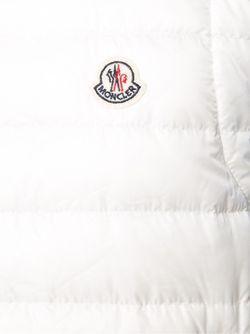 Пуховый Жилет Moncler                                                                                                              белый цвет