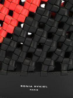 Плетеная Сумка-Мешок На Плечо Sonia Rykiel                                                                                                              чёрный цвет