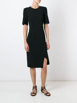 Платье С Разрезом Cedric Charlier                                                                                                              чёрный цвет