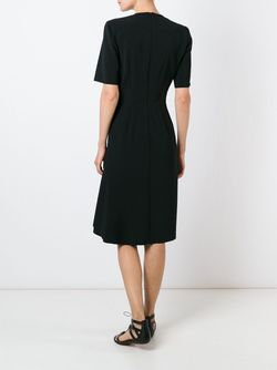 Платье С Разрезом Cedric Charlier                                                                                                              черный цвет