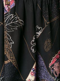 Платье С Принтом И Глубоким Вырезом Elizabeth And James                                                                                                              чёрный цвет