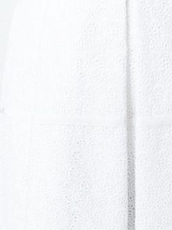 Юбка Со Складками И Вышивкой No21                                                                                                              белый цвет