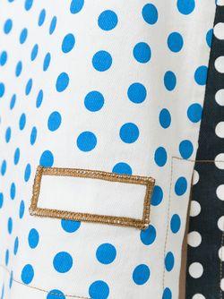 Джинсовая Юбка В Горох J.W. Anderson                                                                                                              синий цвет