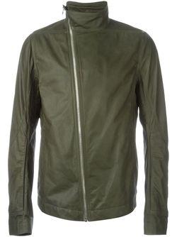 Байкерская Куртка Mollinos Rick Owens                                                                                                              зелёный цвет