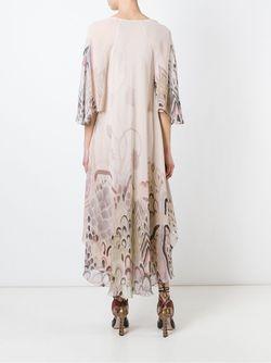 Платье С Абстрактным Принтом Barbara Bui                                                                                                              Nude & Neutrals цвет