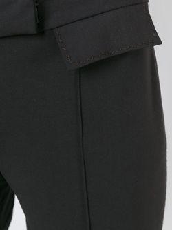 Укороченные Брюки JOHN GALLIANO VINTAGE                                                                                                              коричневый цвет
