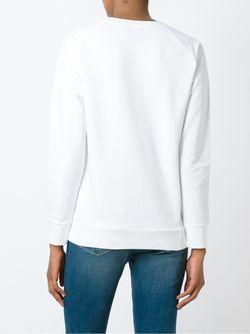 Толстовка С Принтом-Логотипом Pierre Balmain                                                                                                              белый цвет
