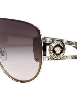 Солнцезащитные Очки-Авиаторы Medusa Versace                                                                                                              серебристый цвет