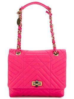 Средняя Сумка На Плечо Happy Lanvin                                                                                                              розовый цвет