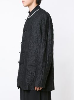 Пиджак С Эффектом Помятости Yohji Yamamoto                                                                                                              черный цвет