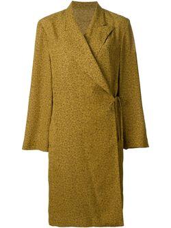 Платье С Запахом JEAN PAUL GAULTIER VINTAGE                                                                                                              желтый цвет