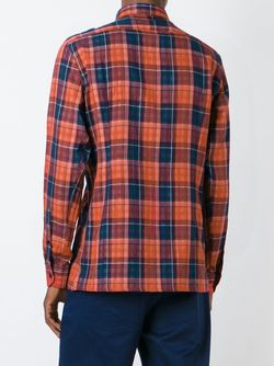 Рубашка В Клетку Raf Simons                                                                                                              красный цвет