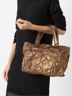 Bolsa Cartaz Metalizada Uma | Raquel Davidowicz                                                                                                              серебристый цвет