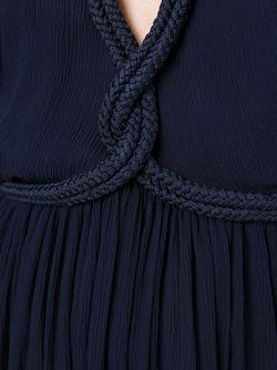 Мини-Платье С Веревочной Отделкой Jay Ahr                                                                                                              синий цвет